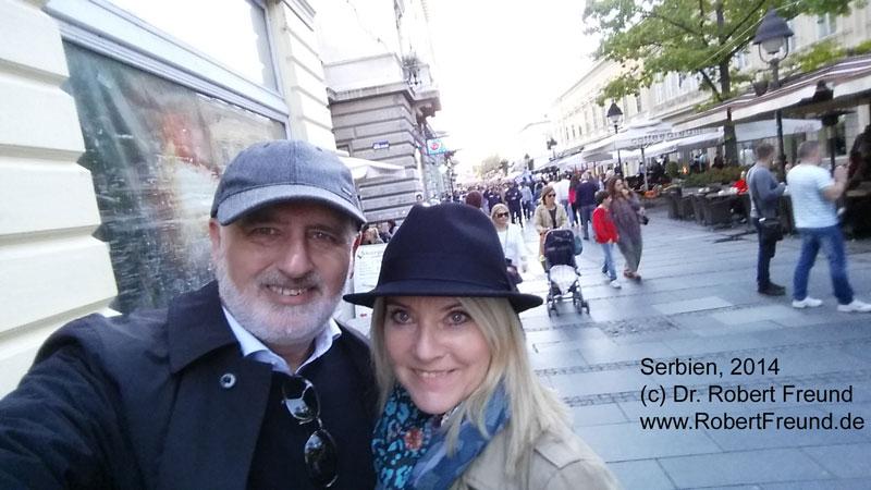 Serbien, Belgrad 2014