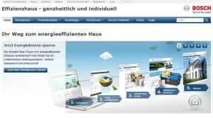 Effizienzhaus Online - Bosch